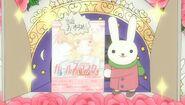Yukina's display closeup at 9 o'clock ep09