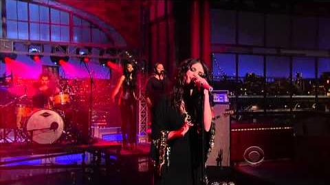 Selena Gomez - Come & Get It (Late Show With David Letterman)