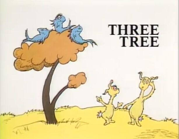 Image three fish in a dr seuss wiki for Fish in a tree