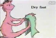 Dry foot image