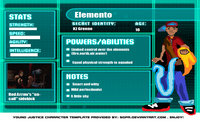 Image Young justice bios template by meibatsud399xl5Young Justice Season 3 Character Bios