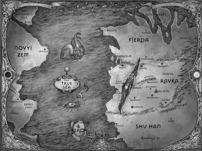 Image result for six of crows map