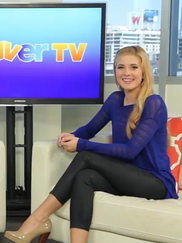CarolineSunshineClevverTV2012InterviewShakeItUp