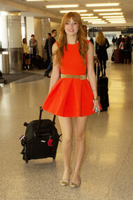 Bella Thorne In Orange