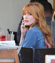 Bella Thorne Lunch17