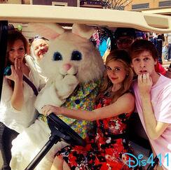 Caroline easter bunny