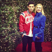 Roshon-fegan-2012-hollywood-christmas-parade-with-caroline-sunshine-1
