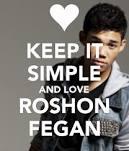Photo keep it simple and love Roshon fegan