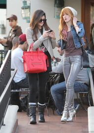 Bella Thorne Lunch29