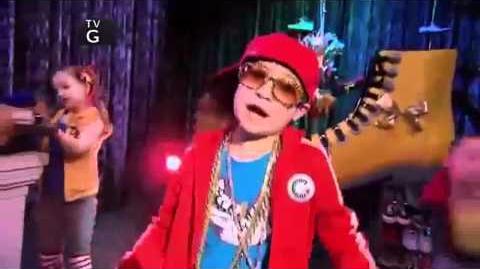 Flynn's Rap on Shake It Up - Copy Kat It Up