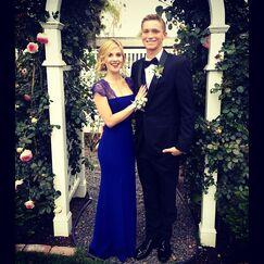 Caroline real prom