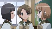 Sasaki and Ogiwara talk to Kazumi 2