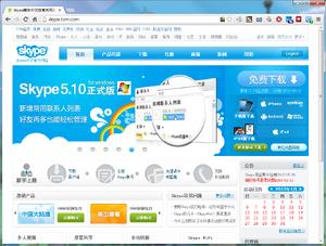 Skype-tom