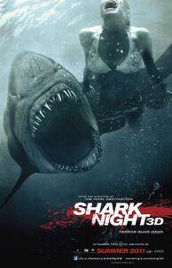 Shark night 3d film poster