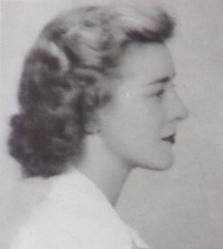 Suzanne Miles 1942 yearbook