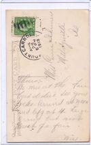 Metcalf 1913 postcard reverse