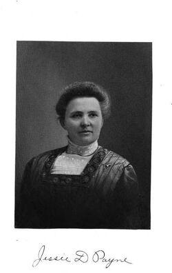Jessie D Payne 1911