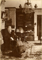 Frances Shimer in chair