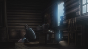 Grisha sees the Ackerman's corpses