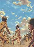 Shingeki no Kyojin Blu-ray Vol.04 Cover Inside
