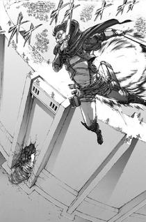 Eren prepares to transform