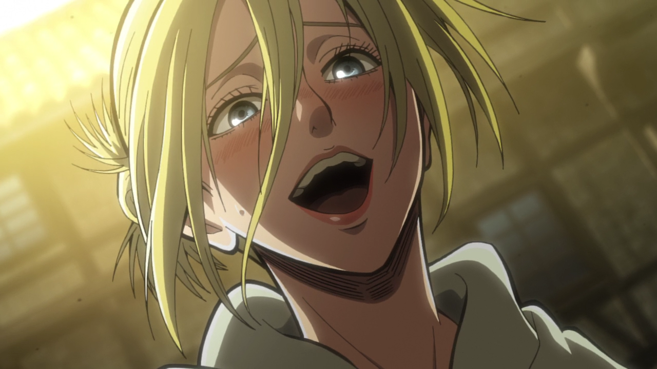 Attack on Titan - Annie Laughing (HD)