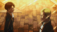 Levi and Erwin cross paths