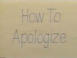 HowToApologize