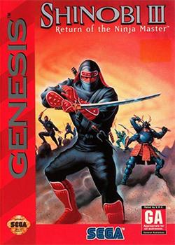 Shinobi III - Return of the Ninja Master Coverart