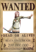 Roza wanted poster