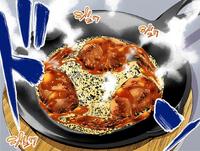 Cheese-Feathered Hanetsuki Gyōza