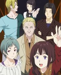 Shino's Tokyo visitors (anime)