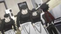 Young Ryō's authority over his chefs
