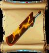 Swords Fire Blade Blueprint