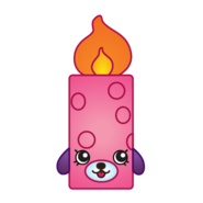 Flicker candle variant art