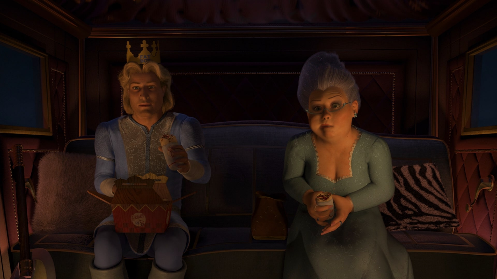 http://vignette2.wikia.nocookie.net/shrek/images/3/39/Prince_charming_and_fairy_godmother_eating_burritos_shrek_2.jpg/revision/latest?cb=20110531072808