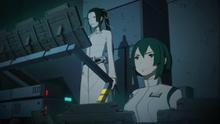 Yuhata as Executife Officer with Captain Kobayashi in CCR