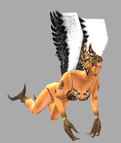 Scythian witch harpy