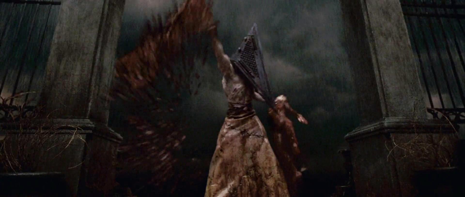 silent hill movie pyramid head scene