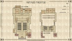 Artaud Theater Map