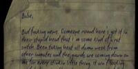 Prisoner's Letter (2)