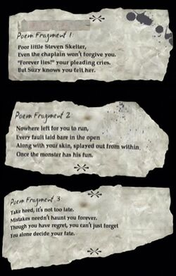 Poem Fragmant 1