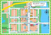 Map of Old Silent Hill