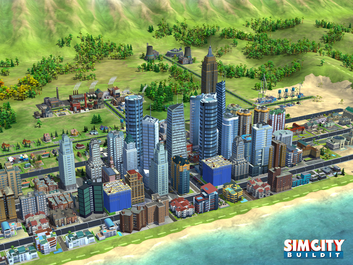 Simcity Build It