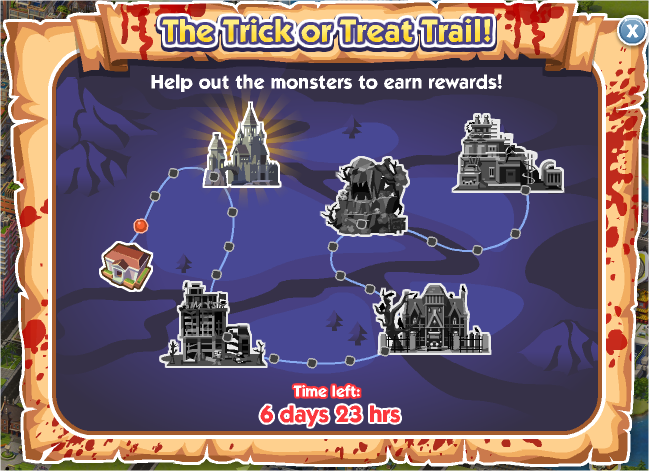 The Trick or Treat Trail!