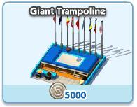Giant Tramploine