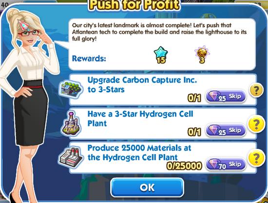 Quest - Push for Profit