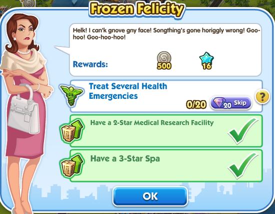 Frozen Felicity