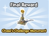 Chase's Challenge Monument