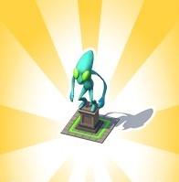 Alien Overlord Statue